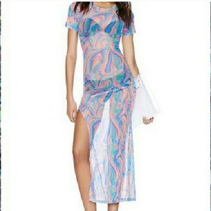 UNIF sheer dress